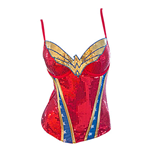 Corset à Paillettes Wonder Woman