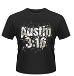 T-shirt WWE Stone Cold Steve Austin Glass