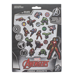 Marvel Comics pack aimants Avengers