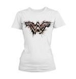 T-shirt Wonder Woman - Splatter Logo