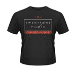 T-shirt Twenty One Pilots - Scale Pattern Strip