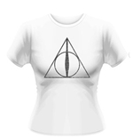T-shirt Harry Potter Symbole Relique de la Mort