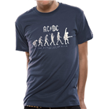 T-shirt AC/DC - Evolution Of Rock