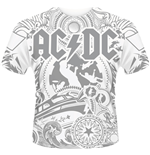 T-shirt AC/DC - Back Ice