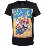 T-shirt Nintendo Super Mario Bros 3