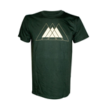 T-shirt Destiny - Green Triangles