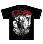 T-shirt Mötley Crüe - Greatest Hits Bandshot