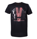 T-shirt Metal Gear - Black Phantom Pain