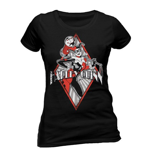 T-shirt Harley Quinn - Diamond