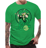 T-shirt Green Arrow - All The Heroes Circle