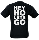 T-shirt Ramones - Hey HO Let's GO