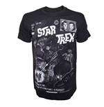 T-shirt Star Trek Comic Book Cover