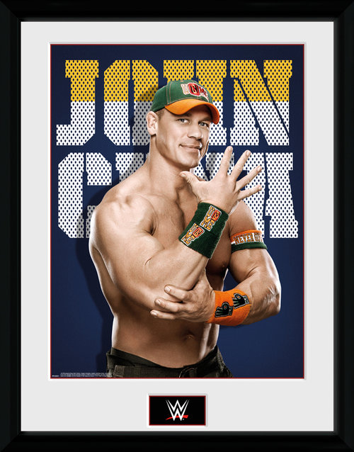 Photo Encadrée WWE John Cena Collector