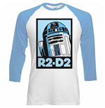 T-shirt Star Wars - R-2D2 Block