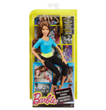 Mattel DJY08 - Barbie Fashion And Beauty - Barbie Articulée haut Bleu