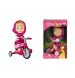 Figurine Macha et l'ours - Masha sur Tricycle