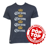 T-shirt Corona Four Rows
