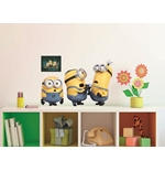 Autocollant Mural Les Minions - Relax & Fight