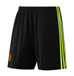 Short de Football Belgique Adidas Home 2016-2017 (Noir)