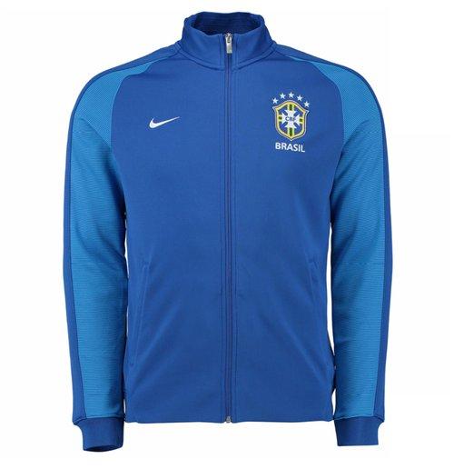 Brésil Survêtement Authentic Nike Achetez De N98 2017 Veste 2016 OwkZiTPXu