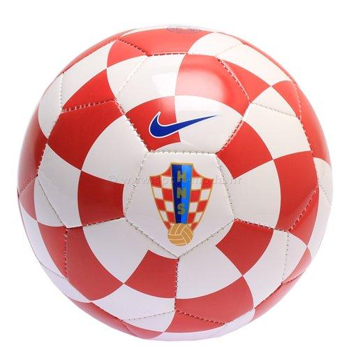 Ballon De Football Croatie Nike Supporters 2016 2017 Rouge Blanc