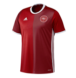 Maillot de Football Danemark Adidas Home 2016-2017