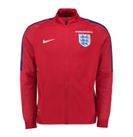 Veste de Survêtement Angleterre Nike Authentic Revolution 2016-2017 (Rouge)