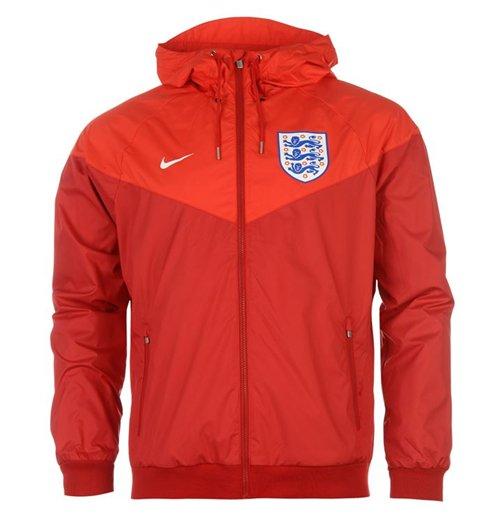 Veste Windrunner Angleterre Nike Authentic 2016 2017 (Rouge)