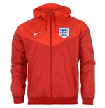 Veste Windrunner Angleterre Nike Authentic 2016-2017 (Rouge)