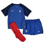 Tenue de Football pour bébés France Home Nike 2016-2017