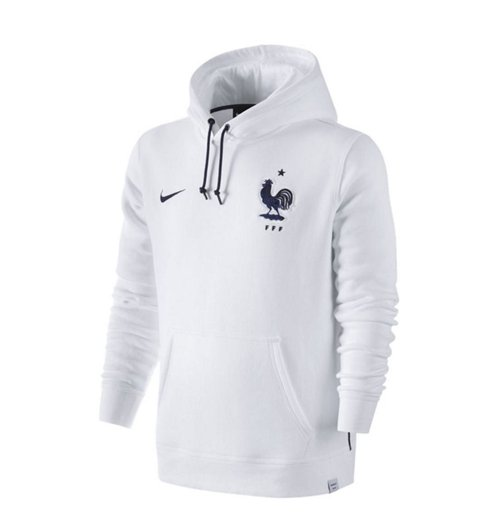 Sweat à Capuche France Nike Core 2016 2017 (Blanc)
