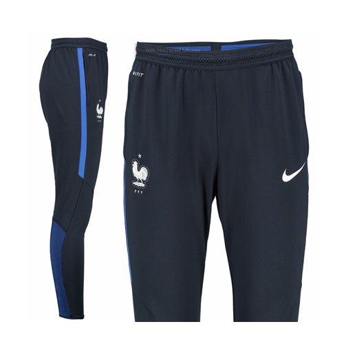 pantalon france nike elite strike 2016 2017 bleu marine pour seulement 101 24 sur. Black Bedroom Furniture Sets. Home Design Ideas