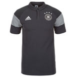 Polo Allemagne Adidas Players 2016-2017 (Gris)