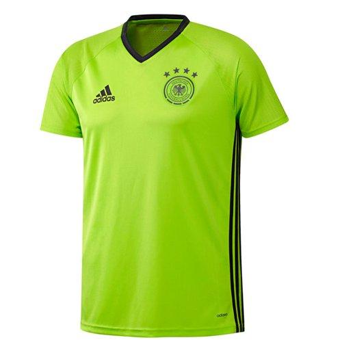 Maillot d'Entraînement Allemagne Adidas Players 2016 2017 (Vert Citron)