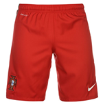 Short Portugal Football 2016-2017 Home (Rouge)