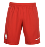 Short Pologne Nike Home 2016-2017 (Rouge)