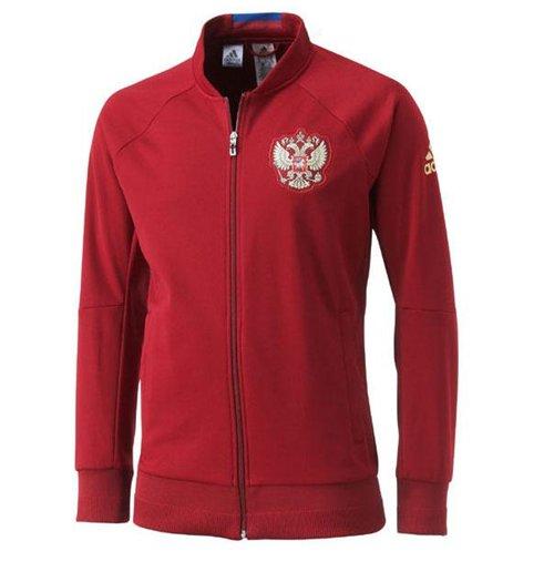 Vetements officiels homme Veste adidas Russie 15 16 Anthem
