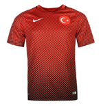 Maillot de Football Turquie Nike Home 2016-2017