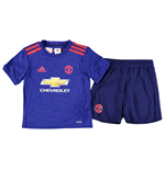 Tenue de Football Manchester United FC Adidas Away Mini Kit 2016-2017 (Petits Garçons)