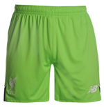 Short Gardien de But Liverpool FC Home 2016-2017 (Vert Pomme) - Enfants
