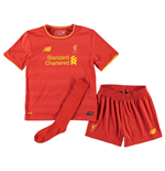 Tenue de Football Liverpool FC Home 2016-2017 Mini Kit (Petits Garçons)