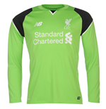 Maillot Gardien de But Manches Longues Liverpool FC Home 2016-2017 (Enfants)