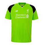Maillot Gardien de But Manches Courtes Liverpool FC Home 2016-2017 (Enfants)