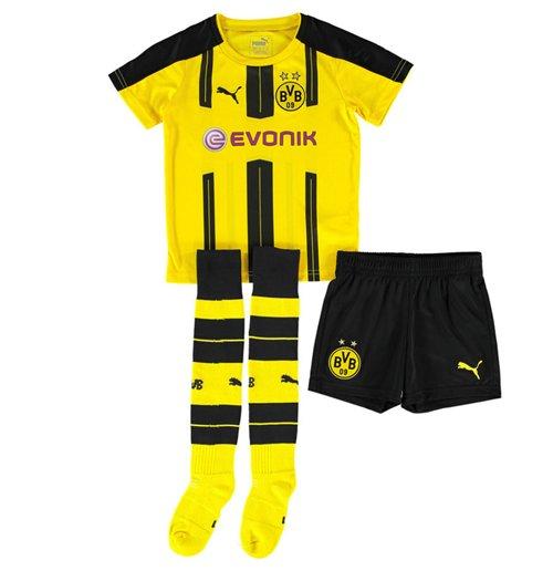 Tenue de Football Borussia Dortmund Puma Home Mini Kit 2016 2017 (Petits Garçons)