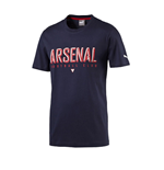 T-shirt Arsenal FC Puma Fan 2015-2016 (Noir) - Enfants