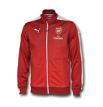 Veste Arsenal FC Puma Stadium 2015-2016 (Rouge) - Enfants