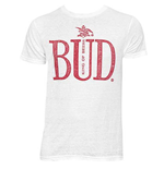 T-shirt Budweiser King Of Beers Blanc