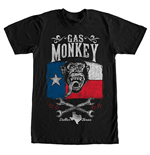 T-shirt Gas Monkey Garage - Lone Star