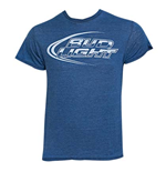 T-shirt Bud Light Bleu