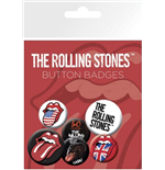 Épinglettes The Rolling Stones - Lips